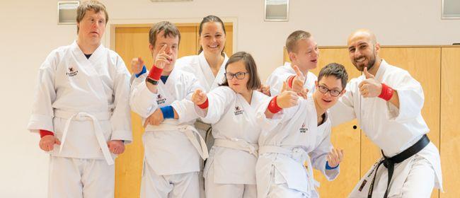 Karate für Menschen mit kognitiver Besonderheit, Feldkirch