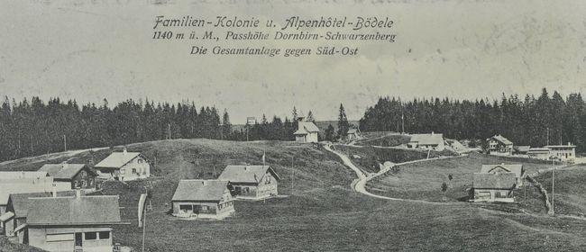 "Kuratorinnenführung, Ausstellung ""Wem gehört das Bödele?"""