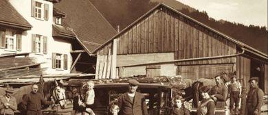 Der Walgau in historischen Fotografien