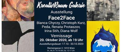 """Gruppenausstellung """"Face2Face"""""""