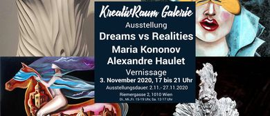 "Ausstellung ""Dreams vs Realities"" Maria Kononov (BEL)/ Alexa"