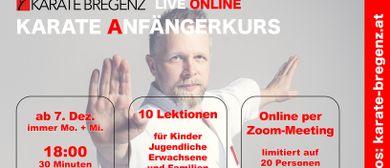 ONLINE Karate Anfängerkurs, KARATE BREGENZ