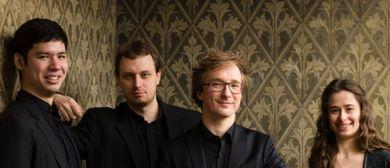 Schubertiade:  Eliot Quartett, Laurène Durantel Kontrabass
