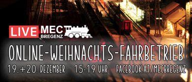 Online-Weihnachts-Fahrbetrieb beim MEC Bregenz