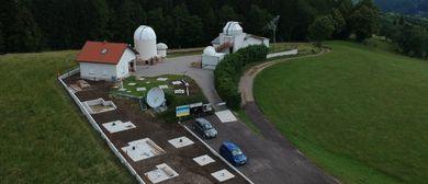 Öffentliche Sternwarteführung mit Himmelsbeobachtung