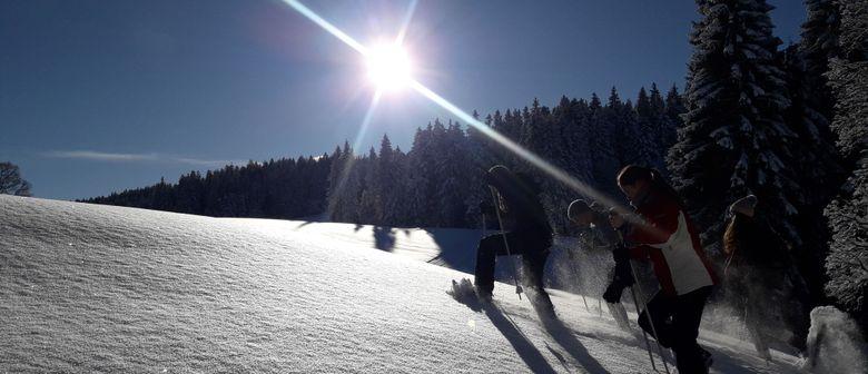 Mit Schneeschuhen ins Naturschutzgebiet Fohramoos (geführt)