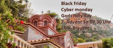 Advent-Gottesdienst & Live-Videoübertragung