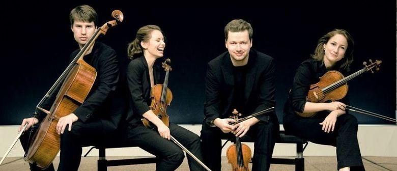 Schubertiade:  Armida Quartett Knut Sundquist Kontrabaß u.a.