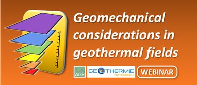 Webinar: Geomechanical Considerations in Geothermal Fields