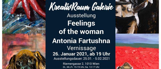 "Ausstellung ""Feelings of the women"" Antonia Fartushna"