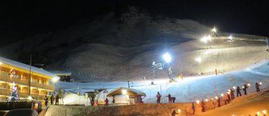 Nachtskilauf in Faschina