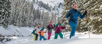 BERGaktiv Schneeschuhwanderung Tiefenwald