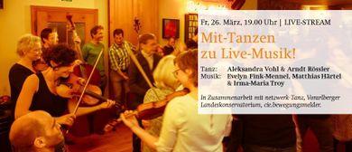 Mit-Tanzen zu Live-Musik!