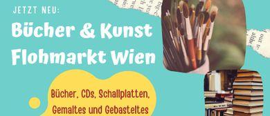 Bücher+Schallplatten+Kunst FLOHMARKT Wien