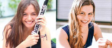 Patrícia Sa Duarte und Isa-Sophie Zünd