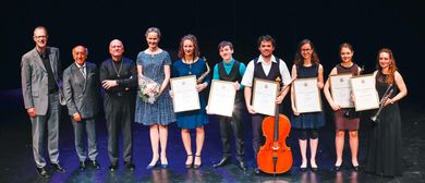 Podium Konzert Preisverleihung