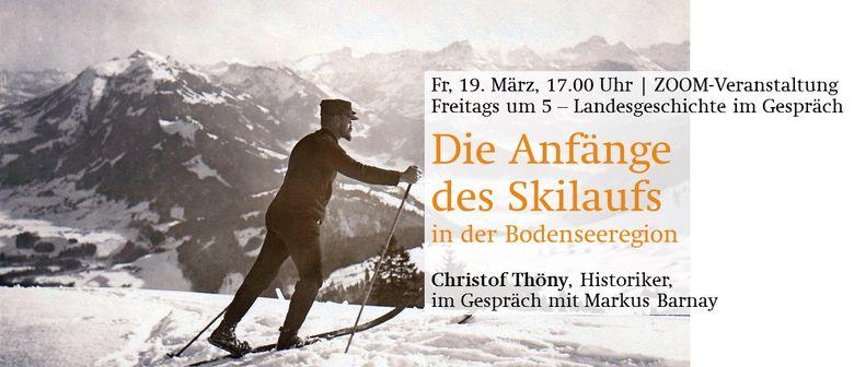 Die Anfänge des Skilaufs in der Bodenseeregion