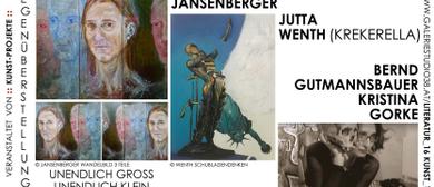 Gegenüberstellungen von Kunst, Literatur, Performance, Musik