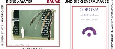 Kathrin Kienel-Mayer Papiercollagen & Coronabuch