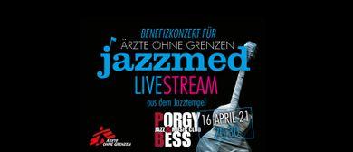 JAZZMED GOES ONLINE!  Benefiz-Jazzkonzert
