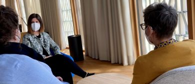 Über Corona reden - Begegnungsraum Stadtbibliothek