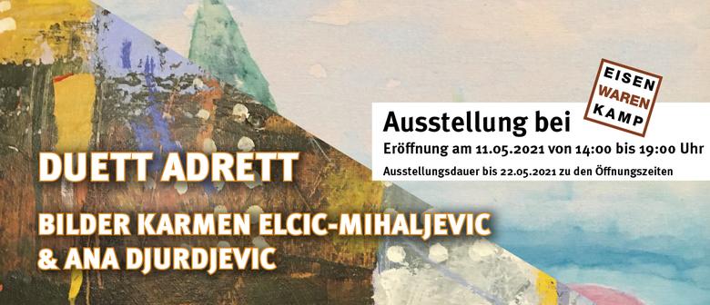 Ausstellung Duett Adrett - 11.05.2021 bei Galerie Eisenwaren