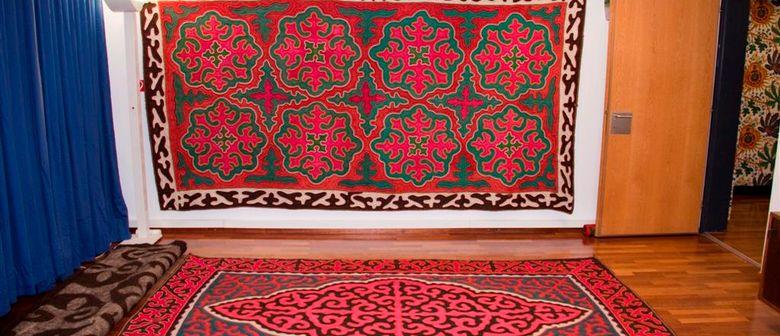 Shyrdak - Filzteppiche aus Kirgistan