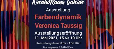 """""""Farbendynamik"""". Veronica Taussig"""
