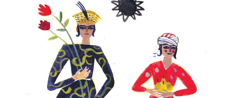 Kinderworkshop - Tuschezeichnen mit Bianca Tschaikner