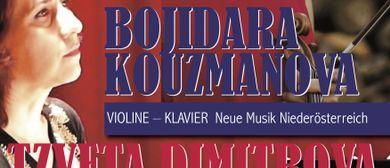Violine-Klavier-Duo: BOJIDARA KOUZMANOVA & TZVETA DIMITROVA