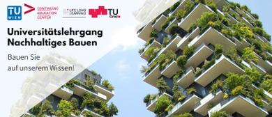 Online Info-Session Universitätslehrgang Nachhaltiges Bauen