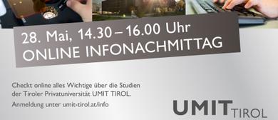 Online UMIT TIROL Infonachmittag