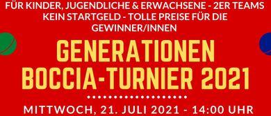 Generationen-Boccia 2021