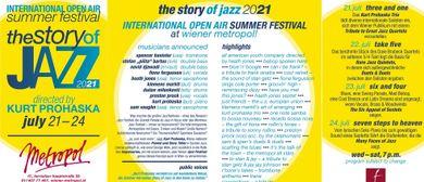 The Story of Jazz – INTERNATIONAL OPEN AIR SUMMER FESTIVAL