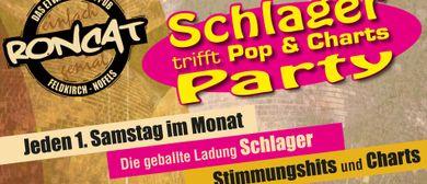 Schlagerparty meets Pop und Charts im Roncat