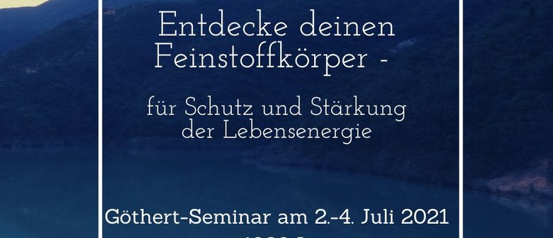 Entdecke deinen Feinstoffkörper - Göthert-Seminar