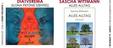 Diatverema - rot-blaue Bilder, Sascha Wittmann - Alles Allta