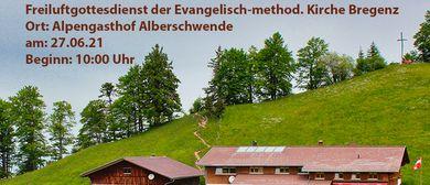 Berggottesdienst in Alberschwende Brüggelekopf