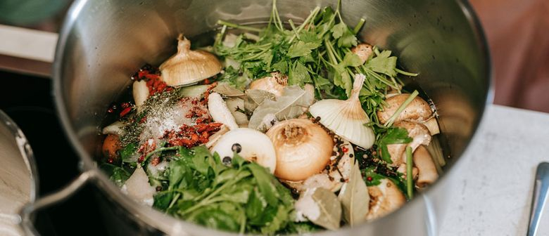 Nährende Kraftbrühe kochen – Workshop N°1