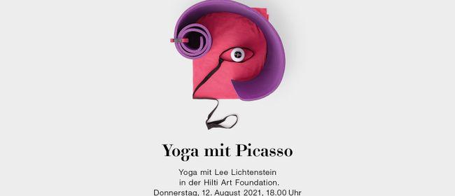 Yoga mit Picasso   Yoga mit Lee Lichtenstein