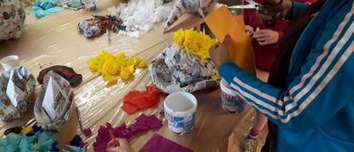 Kinder Künstler Kurse: Piñatas selber bauen
