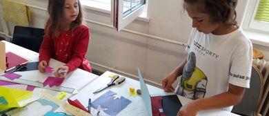 Kinder Künstler Kurse: Origami. bewegte Pop-Ups erzählen