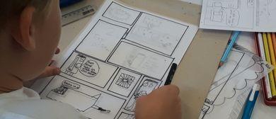 Kinder Künstler Kurse: Comic-Zeichnen-Workshop