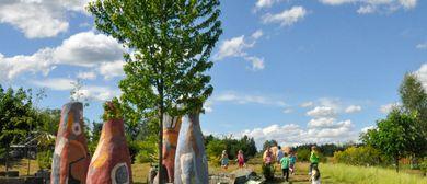 Wasserspiele im Skulpturenpark