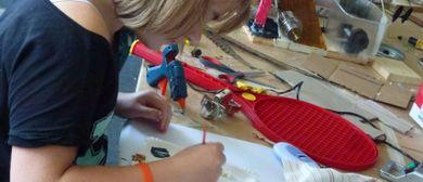 Kinder Künstler Kurse: Mein ganz eigenes Relief