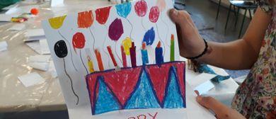 Kinder Künstler Kurse: Verrückte Stories in Pop-up-Technik