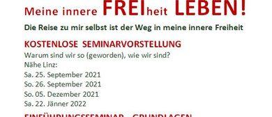 "Wir starten unsere ""FREI LEBEN""-Tour Nähe LINZ am 25.9.2021"