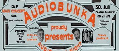 AudioBunkA Night @ Poolbar (Main Concept / Die P / GAS / ??)