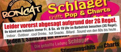 Schlagerparty meets Pop und Charts im Roncat: CANCELLED