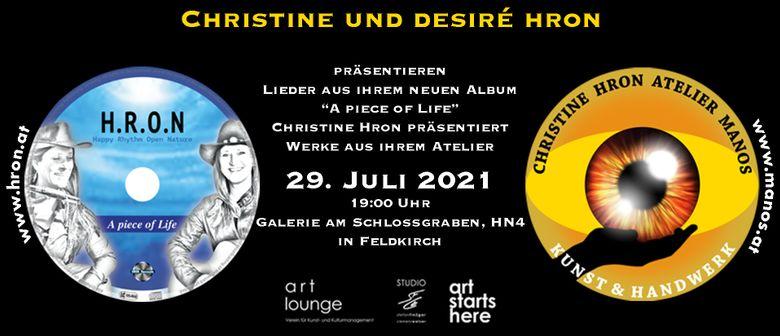 Christine & Desiré HRON -art lounge-Galerie am Schlossgraben